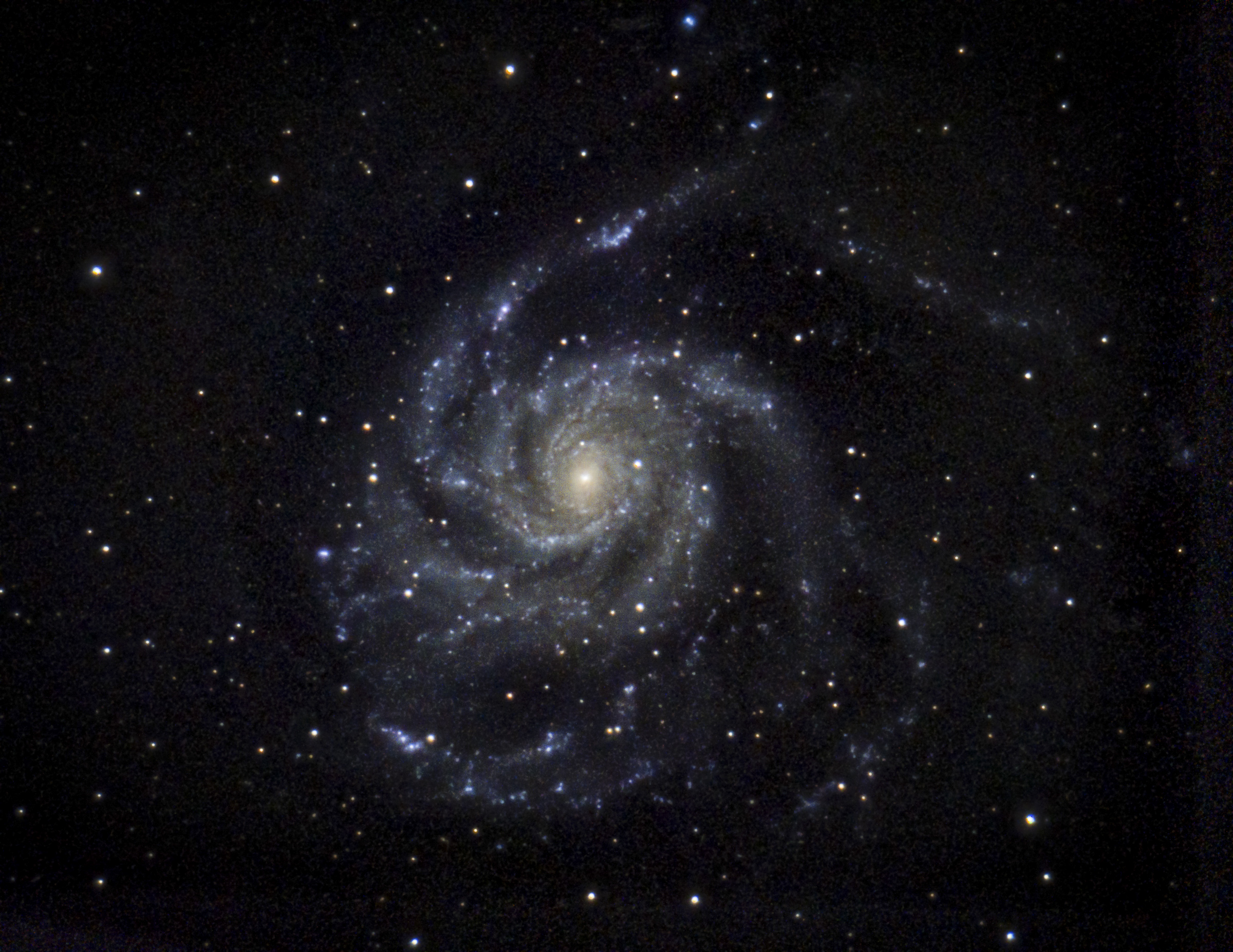 10 The Pinwheel Galaxy (M101)