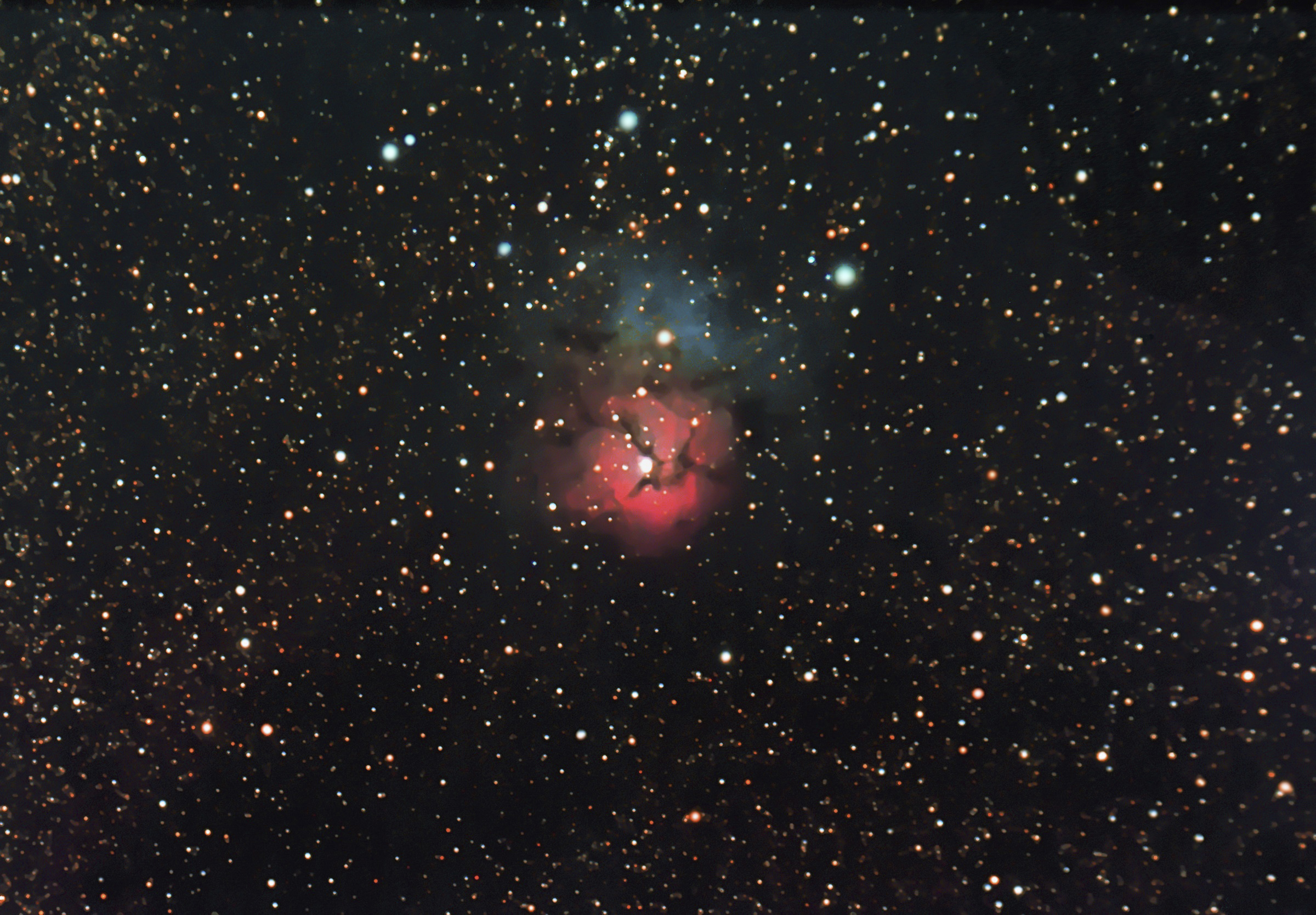 23 The Trifid Nebula (Messier 20)
